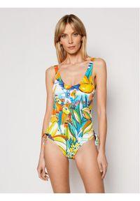 Dół bikini Desigual w kolorowe wzory
