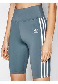 Szare spodenki sportowe Adidas