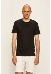 Champion - T-shirt (2-pack). Okazja: na co dzień. Kolor: czarny. Materiał: materiał. Styl: casual