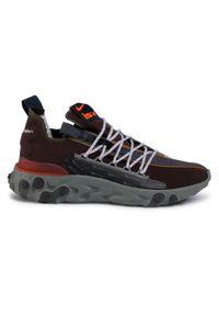 Brązowe buty sportowe Nike z cholewką, na co dzień