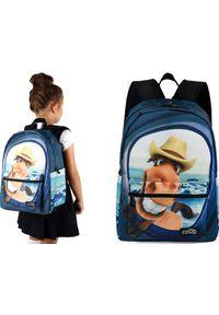 Cogio Kids Italy Plecak szkolny 2045AM granatowy. Kolor: niebieski