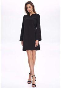 Czarna sukienka wizytowa Nife