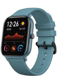 Niebieski zegarek Xiaomi smartwatch, sportowy