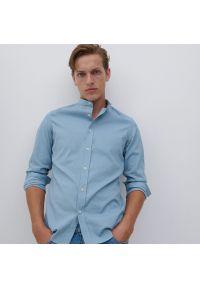 Reserved - Koszula super slim fit - Niebieski. Kolor: niebieski