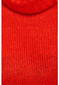 Czerwony sweter ANSWEAR z golfem #6