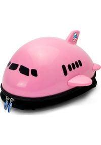 Ridaz Plecak - różowy - samolot Welly Ridaz. Kolor: różowy
