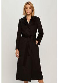 Czarny płaszcz MAX&Co. casualowy, na co dzień