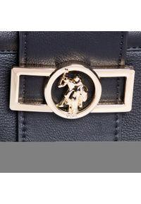 U.S. Polo Assn - Torebka U.S. POLO ASSN. - Albany Crossbody Bag BIUYB4898WVP/000 Black. Kolor: czarny. Materiał: skórzane #4