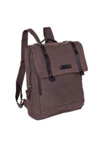Brązowy plecak DAAG w kolorowe wzory