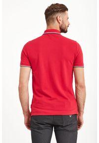 Koszulka polo Armani Exchange z nadrukiem, polo, sportowa