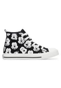 Czarne kozaki Mickey&Friends młodzieżowe, z cholewką #7