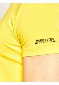 Żółty podkoszulek Dsquared2 Underwear