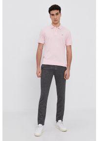 GANT - Gant - T-shirt/polo 2201. Typ kołnierza: polo. Kolor: różowy. Długość: krótkie