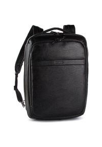 Czarna torba na laptopa Guess