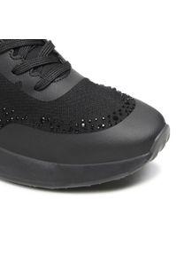 Tamaris - Sneakersy TAMARIS - 1-23730-26 Black Uni 007. Okazja: na co dzień, na spacer. Kolor: czarny. Materiał: skóra ekologiczna, materiał. Szerokość cholewki: normalna. Sezon: lato. Styl: casual