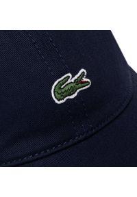 Niebieska czapka Lacoste marine
