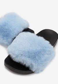 Niebieskie klapki Renee