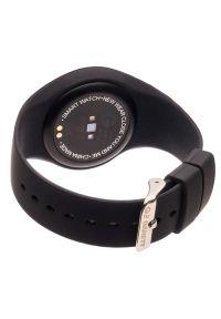 Czarny zegarek GARETT elegancki, smartwatch