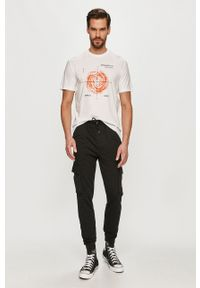 Czarne spodnie dresowe Only & Sons gładkie