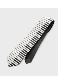 MegaKoszulki - Krawat Piano. Materiał: poliester, materiał. Wzór: nadruk. Styl: elegancki