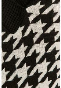 Answear Lab - Sweter. Okazja: na co dzień. Kolor: czarny. Materiał: dzianina. Styl: wakacyjny