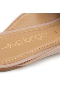 Eva Longoria - Klapki EVA LONGORIA - EL-05-01-000022 121. Kolor: różowy. Materiał: skóra. Sezon: lato