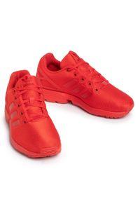 Czerwone półbuty Adidas