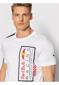 Puma T-Shirt Logo 59622103 Biały Regular Fit. Kolor: biały