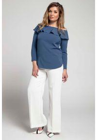 Bluzka z długim rękawem Nommo plus size
