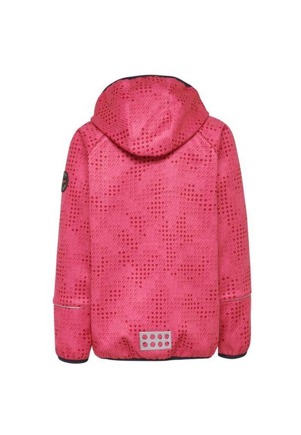 Różowa kurtka przeciwdeszczowa LEGO Wear