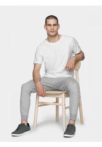 outhorn - T-shirt męski. Materiał: bawełna, dzianina. Długość rękawa: raglanowy rękaw