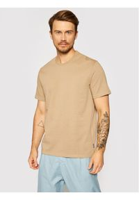 Only & Sons T-Shirt Anel 22019359 Brązowy Regular Fit. Kolor: brązowy