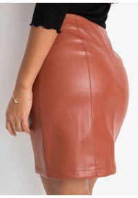 Brązowa spódnica bonprix