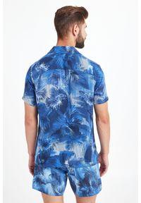 Koszula Emporio Armani Swimwear elegancka, na co dzień