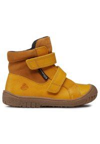 Żółte półbuty Bundgaard #6