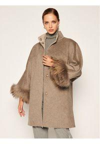 Szary płaszcz przejściowy Luisa Spagnoli