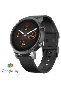 TICWATCH smartwatch E3, Panther Black. Rodzaj zegarka: smartwatch. Kolor: czarny. Styl: sportowy