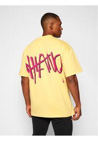 Żółty t-shirt MSGM