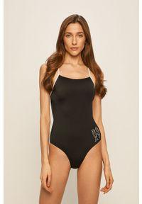 Czarny strój kąpielowy Roxy z nadrukiem
