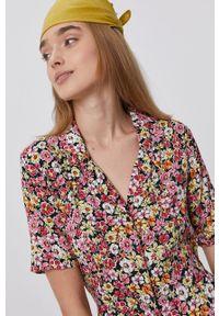 TALLY WEIJL - Tally Weijl - Sukienka. Materiał: tkanina. Długość rękawa: krótki rękaw. Typ sukienki: rozkloszowane