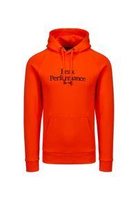Peak Performance - Bluza PEAK PERFORMANCE ORIGINAL. Materiał: bawełna. Wzór: haft, napisy. Styl: sportowy, klasyczny