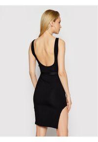 Czarna sukienka LABELLAMAFIA na co dzień, prosta, casualowa
