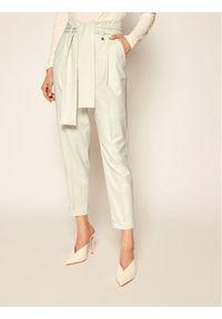 Beżowe spodnie materiałowe Liu Jo