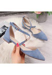 Niebieskie sandały Sabatina