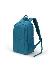 Niebieski plecak na laptopa DICOTA w kolorowe wzory