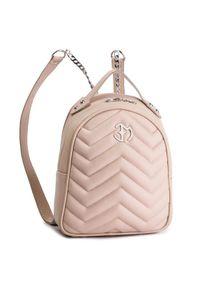 Różowy plecak Eva Minge