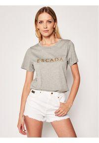 Szary t-shirt Escada Sport sportowy