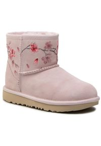 Ugg Buty Kid's Classic Mini Blossom 1119832K Różowy. Kolor: różowy
