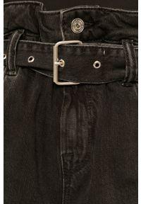 Czarne szorty AllSaints na co dzień, casualowe