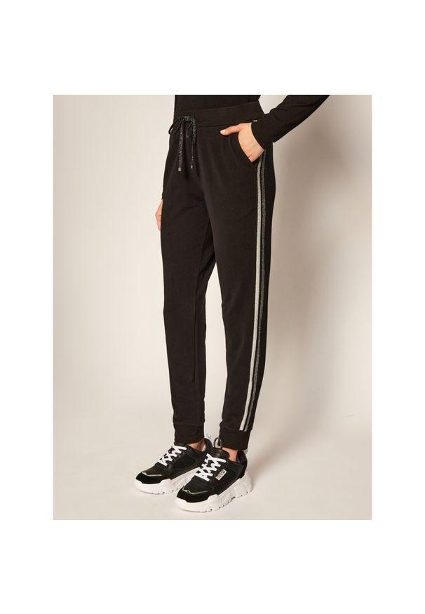Czarne spodnie dresowe Liu Jo Sport